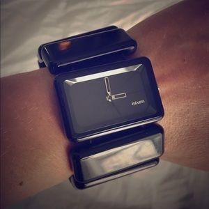 Black Nixon Vega Watch